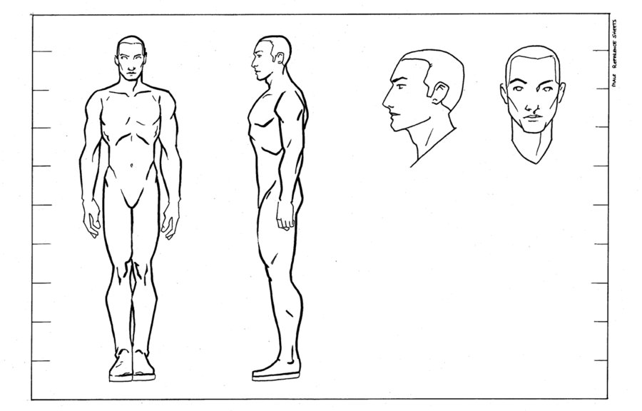 character design sheet template google search male character