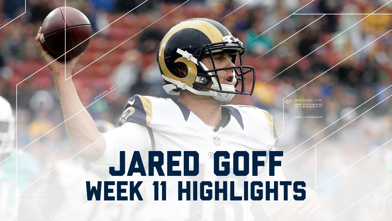 Every Throw from Jared Goff's First Career Start (Week 11 Highlights) | ...