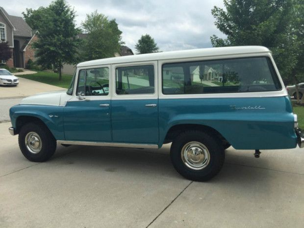 no reserve 1968 international harvester travelall 4x4 cars rh pinterest com