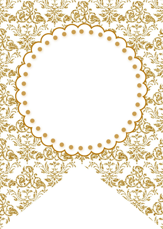 gold - good for 50th anniversary | Etiket | Pinterest | Banderin ...