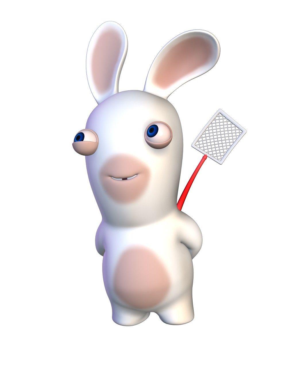 Lapin Crétin Attrape Mouches Lapin Crétin Rabbit Glitter