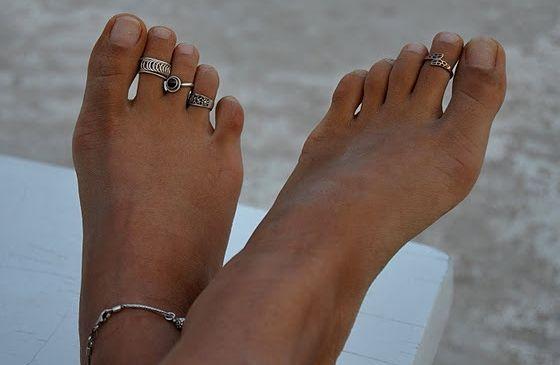 les doigts de pied