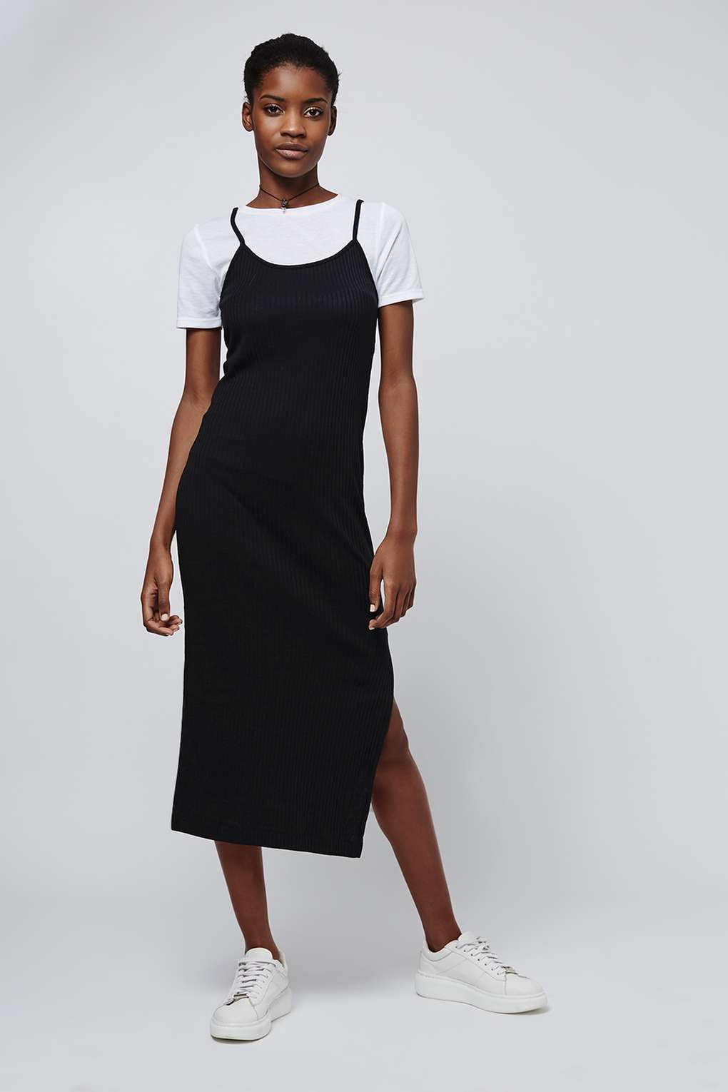 05395dfba6a T-Shirt Midi Dress - Topshop