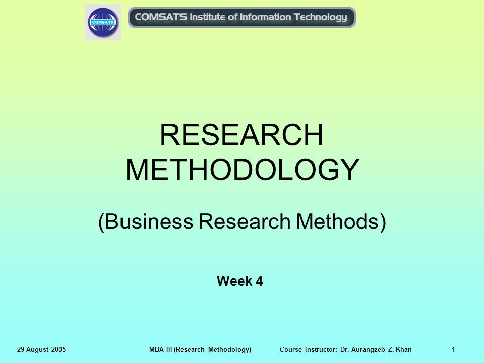 Business research methods by business research methods ppt