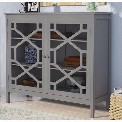 Best Andover Mills Friedlander 2 Door Accent Cabinet Cabinet 400 x 300