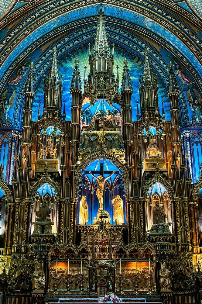 Basilique Notre Dame By Joel Samson On 500px France French Christian Church Pinterest Ecclesiasticalsewing Cathedral Church Architecture Church