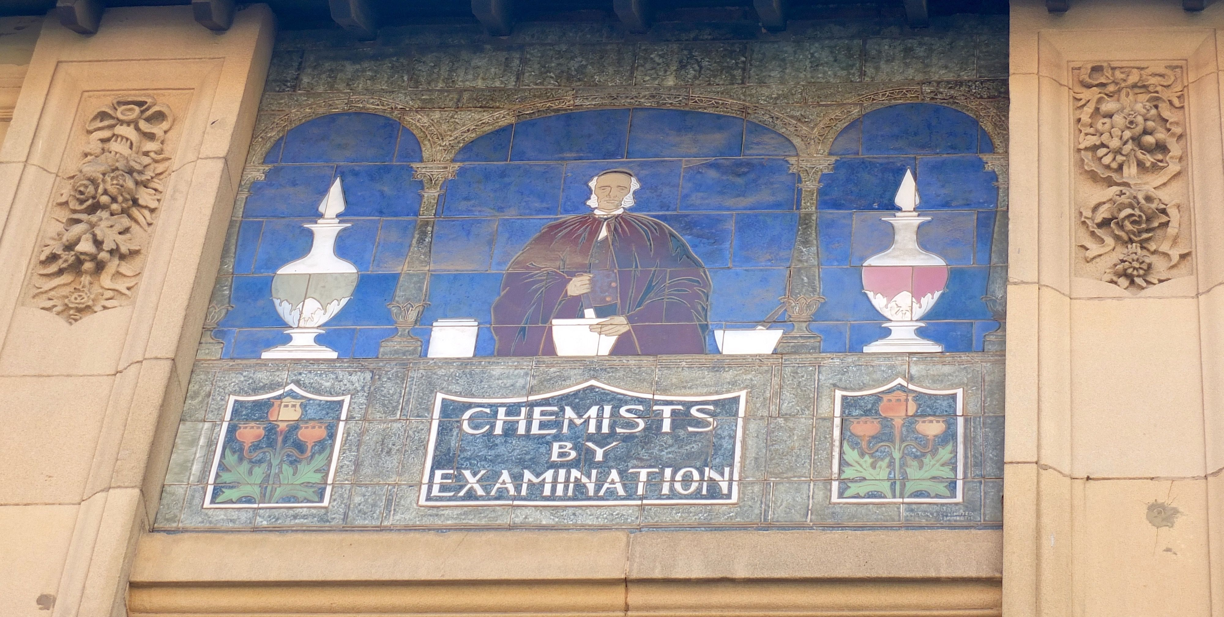 Doulton Lambeth tile panel in Leicester\'s High Street. | Tiles with ...