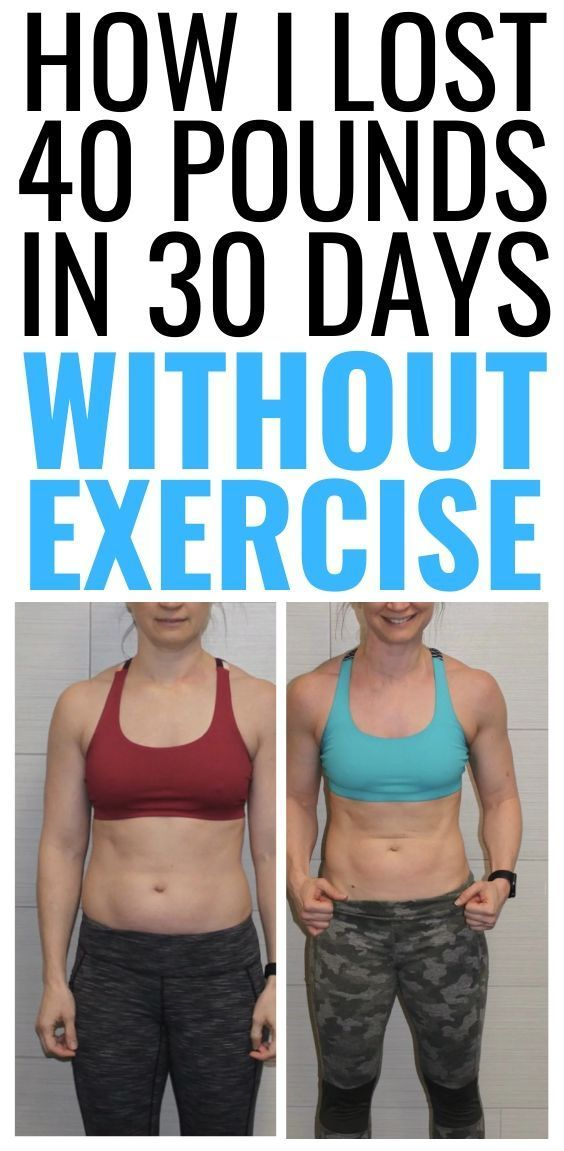 Doable Weight Loss Plan from 42 year old woman who lost 40 pounds in 30 days Without Diet or Exercis...