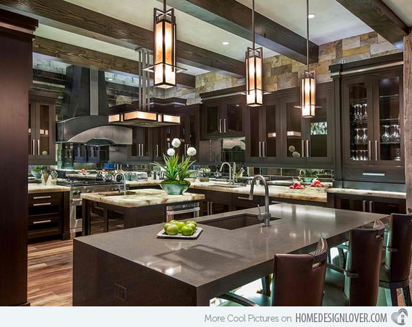 15 Big Kitchen Design Ideas Large Kitchen Design Home Decor Kitchen Kitchen And Bath Design