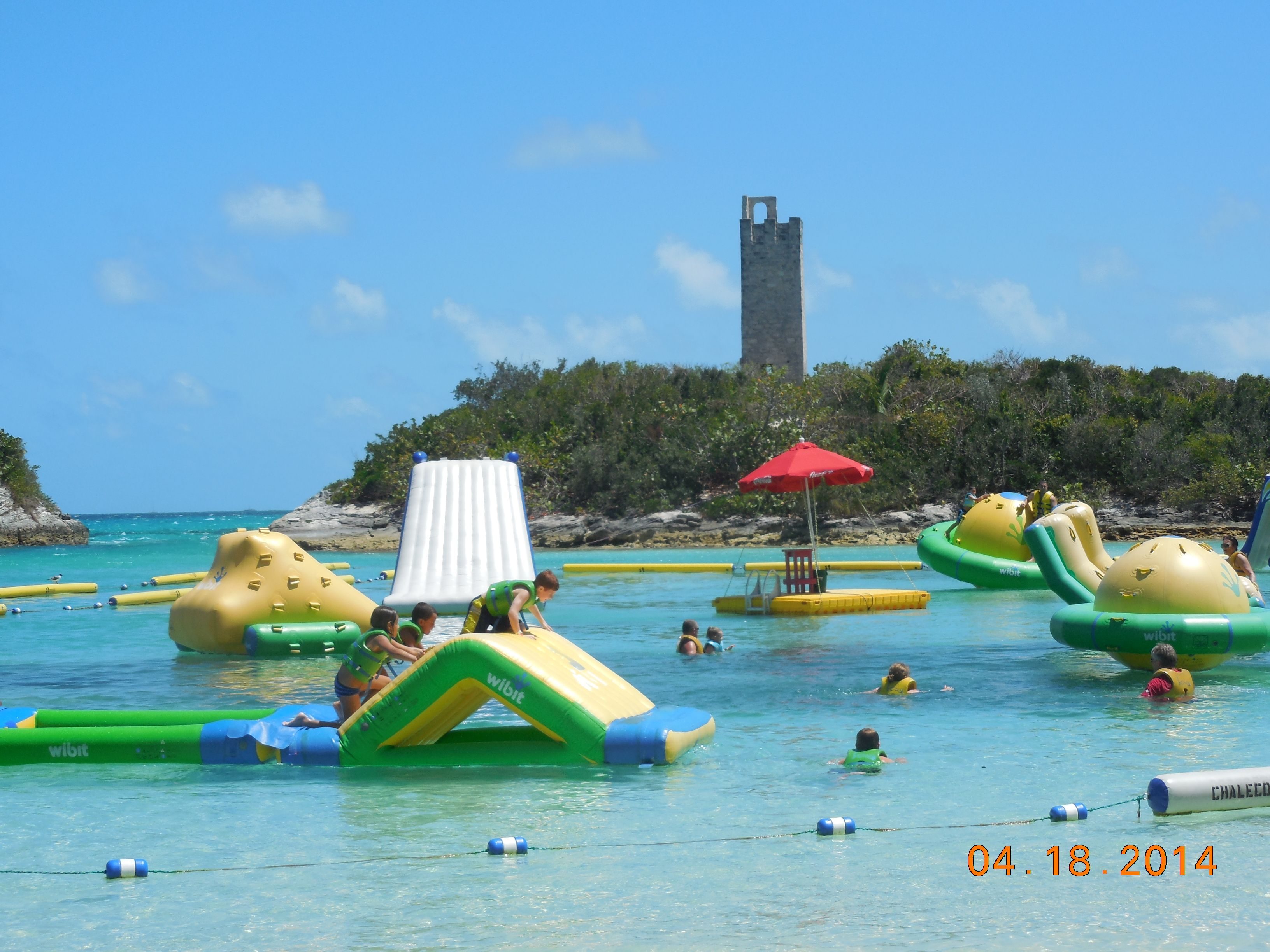Blue Lagoon Excursion Nassau Bahamas A Kids Paradise