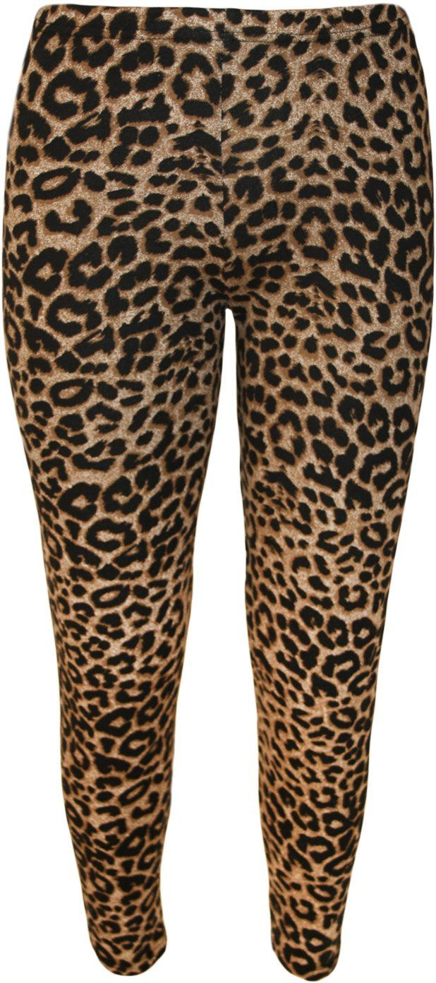 3950b137e5c WearAll Women s Plus Size Print Leggings - Animal - US 8-10 (UK 12 ...