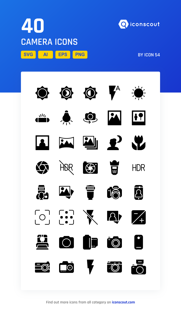 Download Camera Icon Pack Available In Svg Png Eps Ai Icon Fonts Camera Icon Icon Icon Pack
