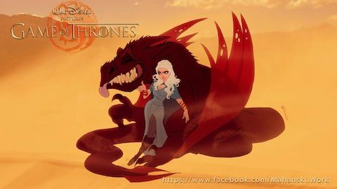 Game Of thrones - Disney