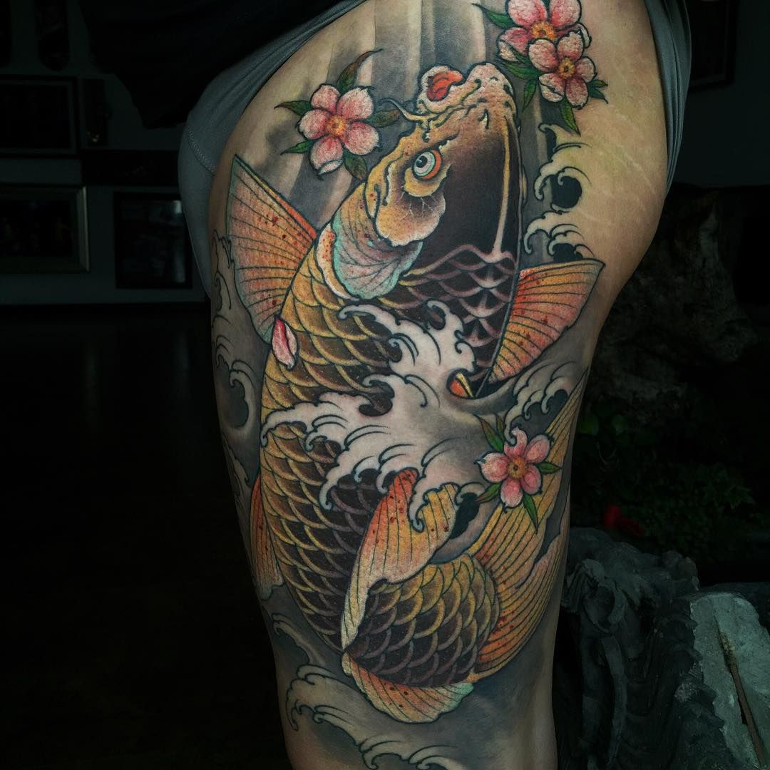 Cuitattoo Koi Koitattoo Londontattooconvention Tattoolifemagazine Koi Tattoo Design Koi Fish Tattoo Japanese Tattoo Designs