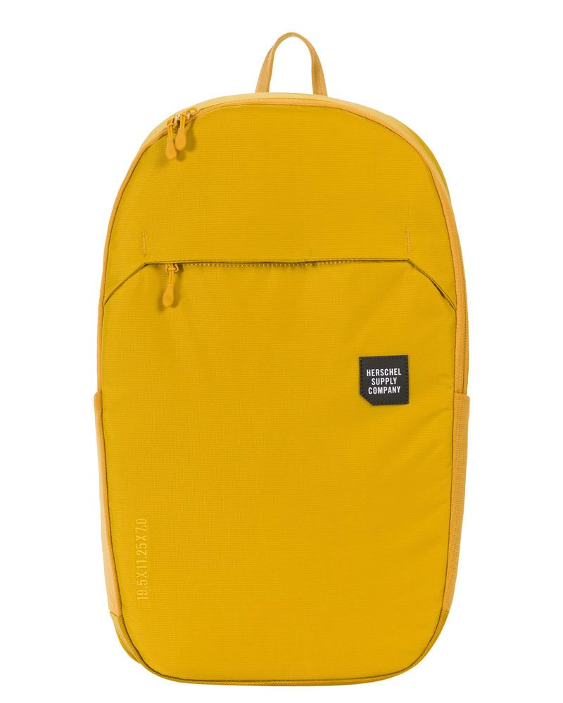 004f1a21784 New Herschel Supply Co Men s Mammoth Large Trail 23L Backpack Rubber Mesh  Yellow (eBay Link)