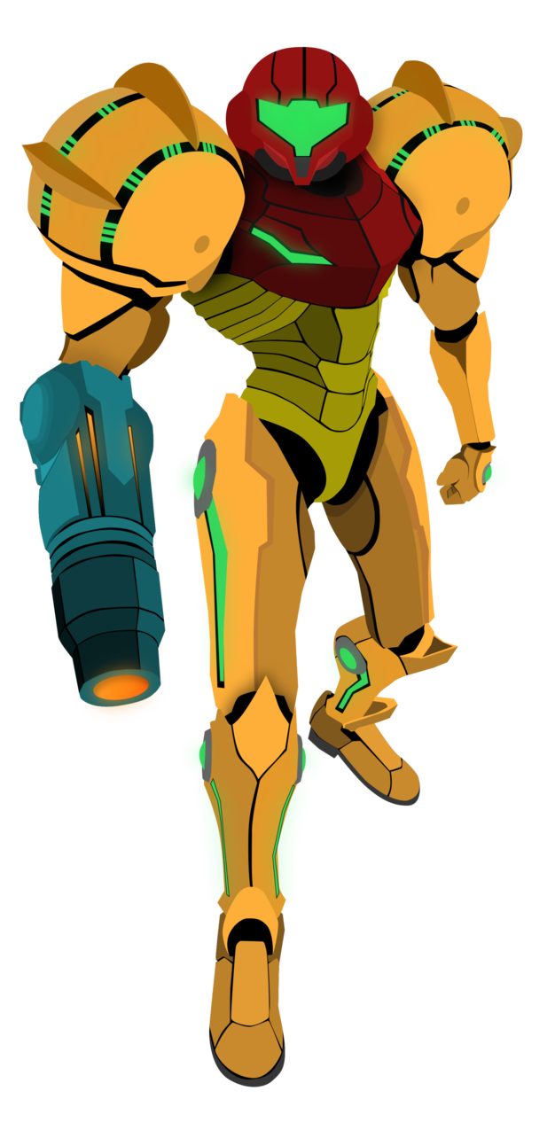 Samus Aran Metroid Vector By Firedragonmatty On Deviantart Samus Metroid Samus Aran
