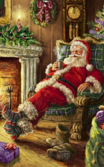 You can relax now darling..it was the best Christmas ever...I love ...