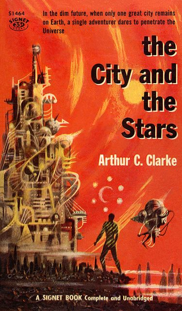 The City and the Stars (Signet S1464), Arthur C. Clarke