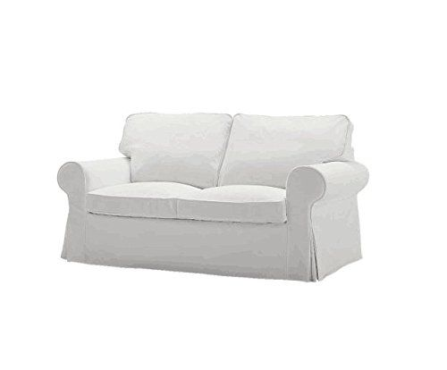 Replace Cover For Ikea Ektorp Two Seat Sofa Bed Ektorp Two Seater Sleeper Sofa Cover 100 Cotton Fabric M Sofas For Small Spaces Ikea Loveseat Ikea Sofa Bed
