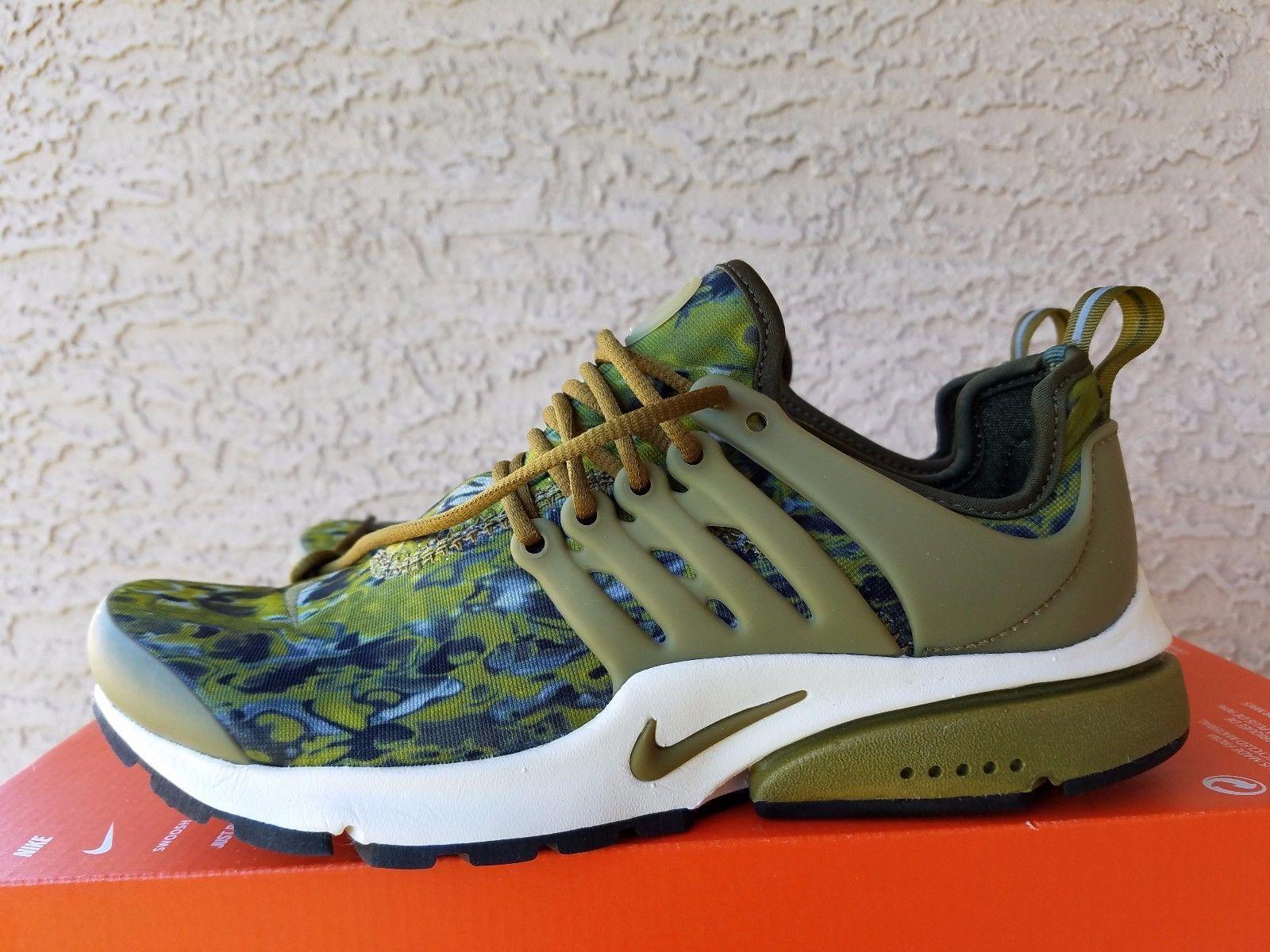 Tiranía pescado medida  Nike Women's Air Presto GPX Army Green Camo 844891-300 Sample Size XS (US  6-7) | Women shoes, Nike women, Green camo