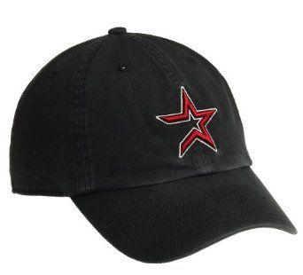 Houston Astros Franchise Fitted Baseball Cap (Black)