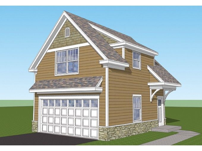 Garage Apartment Plans 2 Bedroom craftsmanl garage plan with 482 square feet and 1 bedrooms from