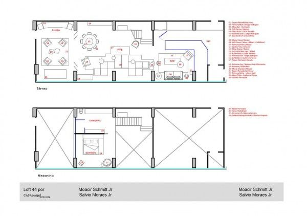 Loft Apartment Design Layout an artful loft design - layout plans 32 | houses & interior design