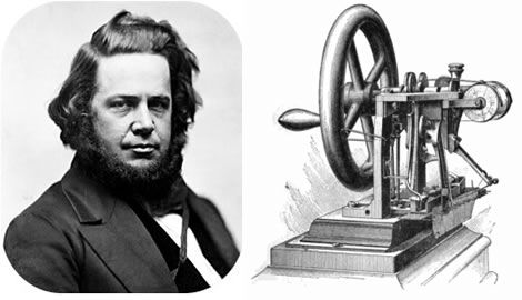 Elias Howe Invented The Sewing Machine In 40 History Pinterest Inspiration Inventor Sewing Machine