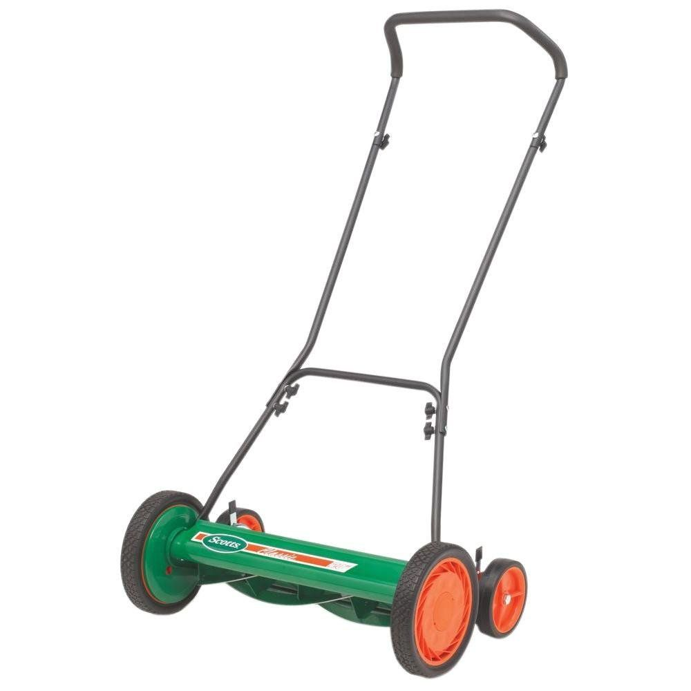 Scotts 20 In Manual Walk Behind Reel Mower With Grass Catcher Sharpening Kit Go To The Picture Link More Informati Reel Lawn Mower Lawn Mower Reel Mower