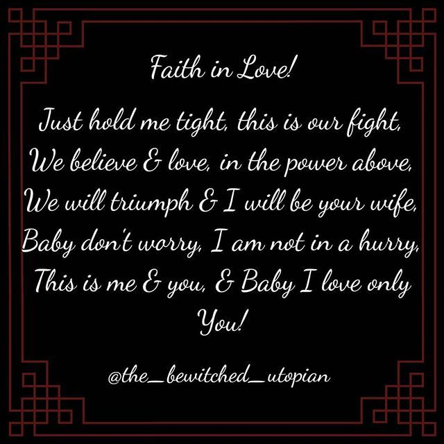 A poem dedicated to all the Lovers out there who are fighting a war to be together!  Follow @the_bewitched_utopian for Romance Passion and Poems.  Tag…