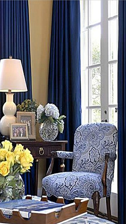 Pin By Roxane Lamb On Living Rooms Blue Living Room Country
