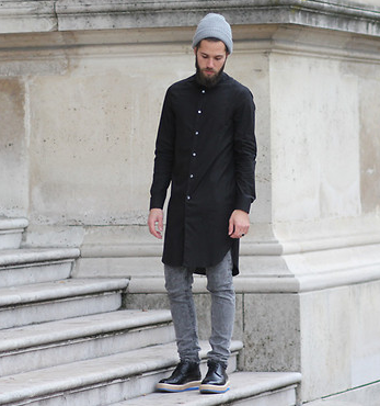 Extra long shirt fashion style pinterest see more ideas about man style for Extra long dress shirts