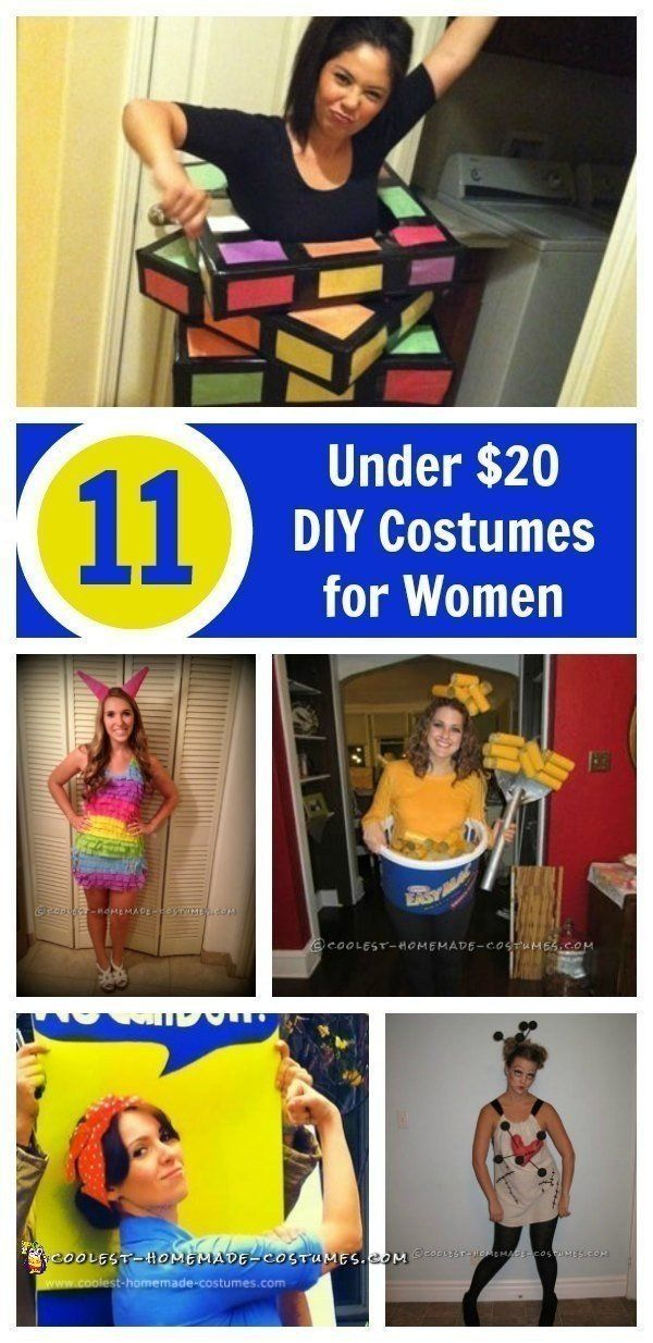 11 Fun and Cheap Halloween Costume Ideas for Women Cheap halloween - halloween costume ideas for female