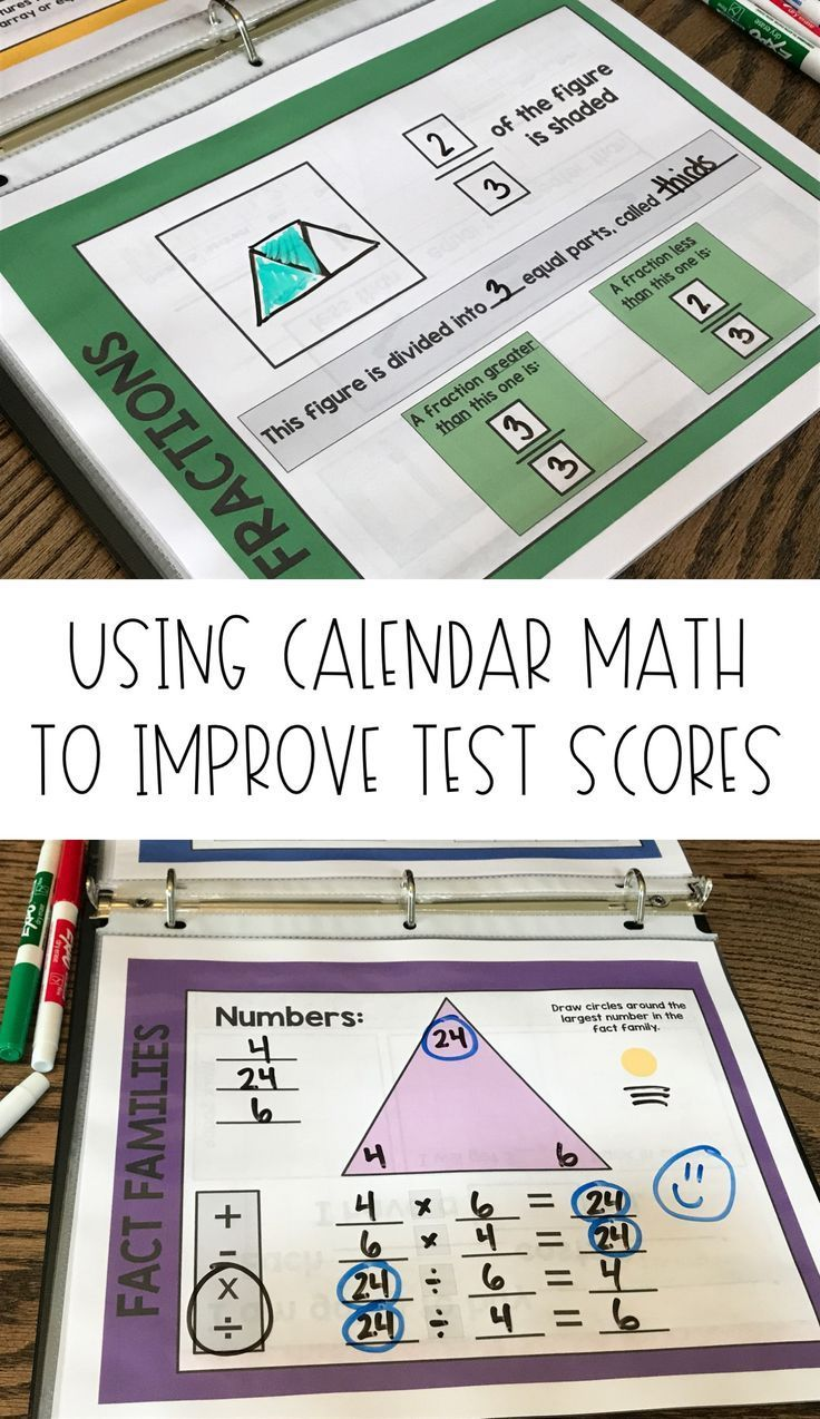 Calendar Math for ActivInspire with Workbook Pages - Grades 2, 3, 4 ...