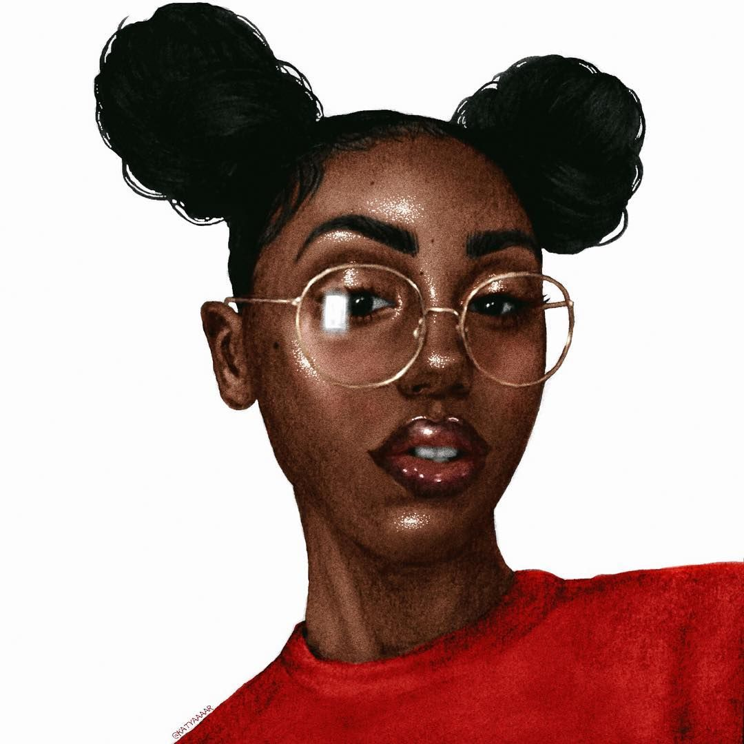 Erik Palmer Brown Wallpaper: Art, Black Girl Art And