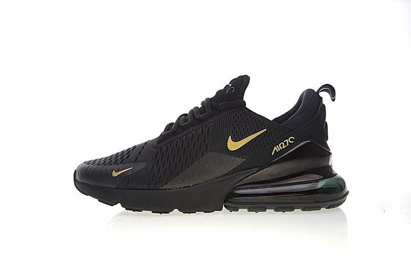 Cheapest Nike Air Max 270 Black Gold