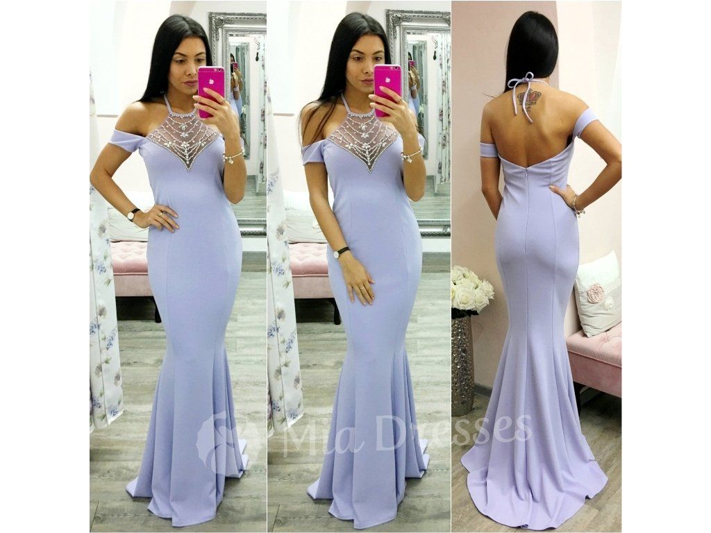 Krásne dlhé spoločenské šaty vo fialovej farbe 50a43a6bcc9