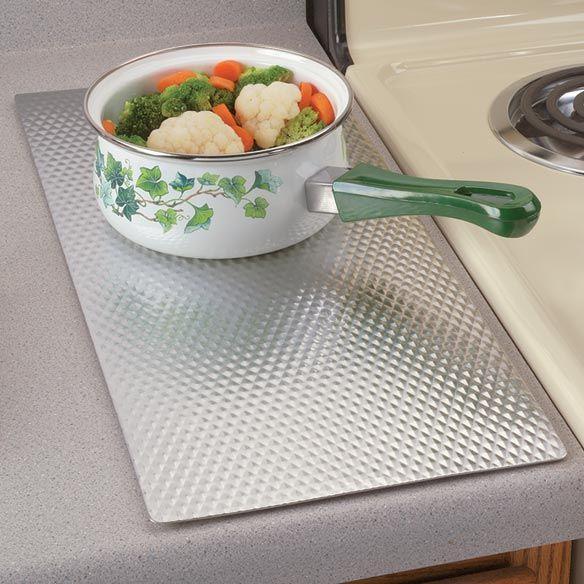Non Slip Insulated Counter Mat Kitchen Mat Miles Kimball Kitchen Trivets Large Kitchen Kitchen Mat
