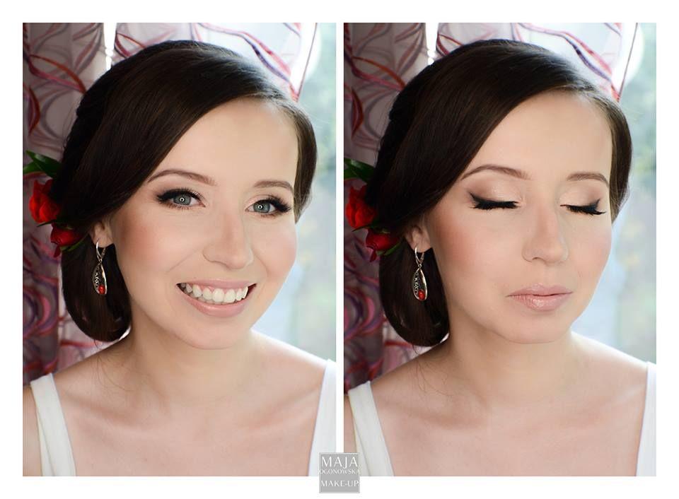#bridal # makeup #eyliner #deliate #natural #nudelips
