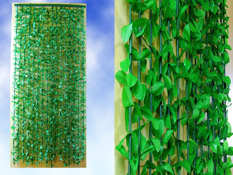 Jungle Leaves String Door Screen Green Plant Curtain Ider
