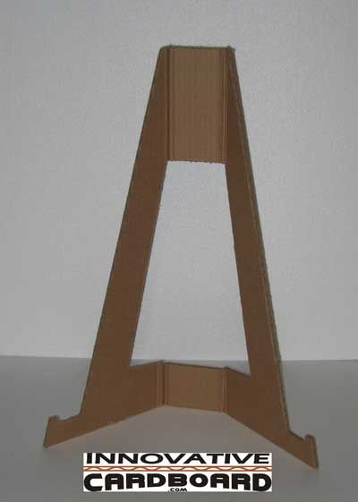 Easel For Canvas With Images Diy Easel Cardboard Picture