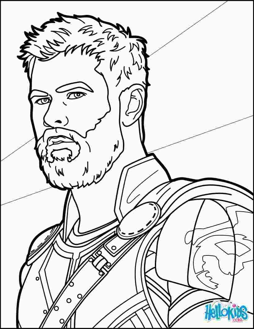 Thor Ragnarok Coloring Avengers Coloring Pages Avengers