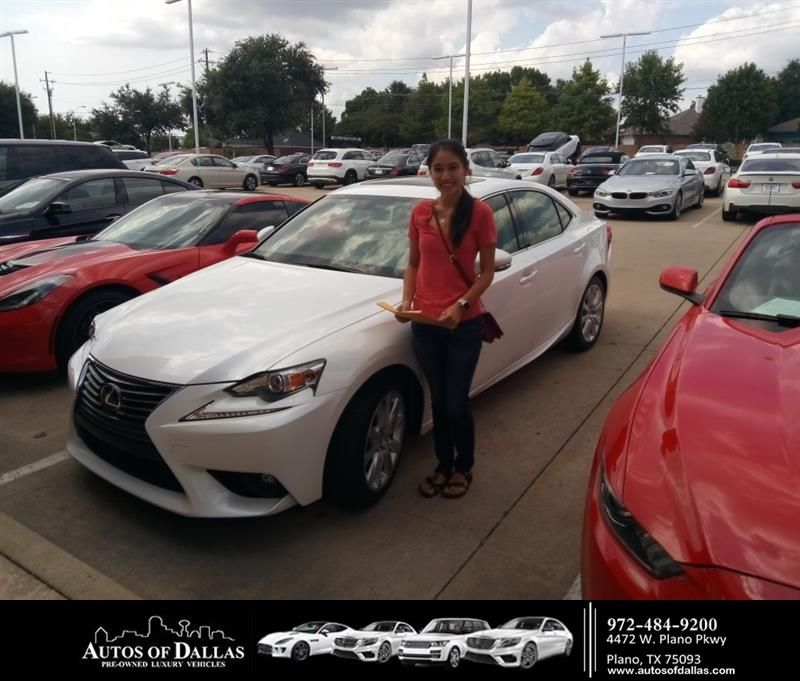 Congratulations Jean Jean On Your Lexus Is 200t From John Hernandez At Autos Of Dallas Newcar Happy Anniversary New Cars Lexus
