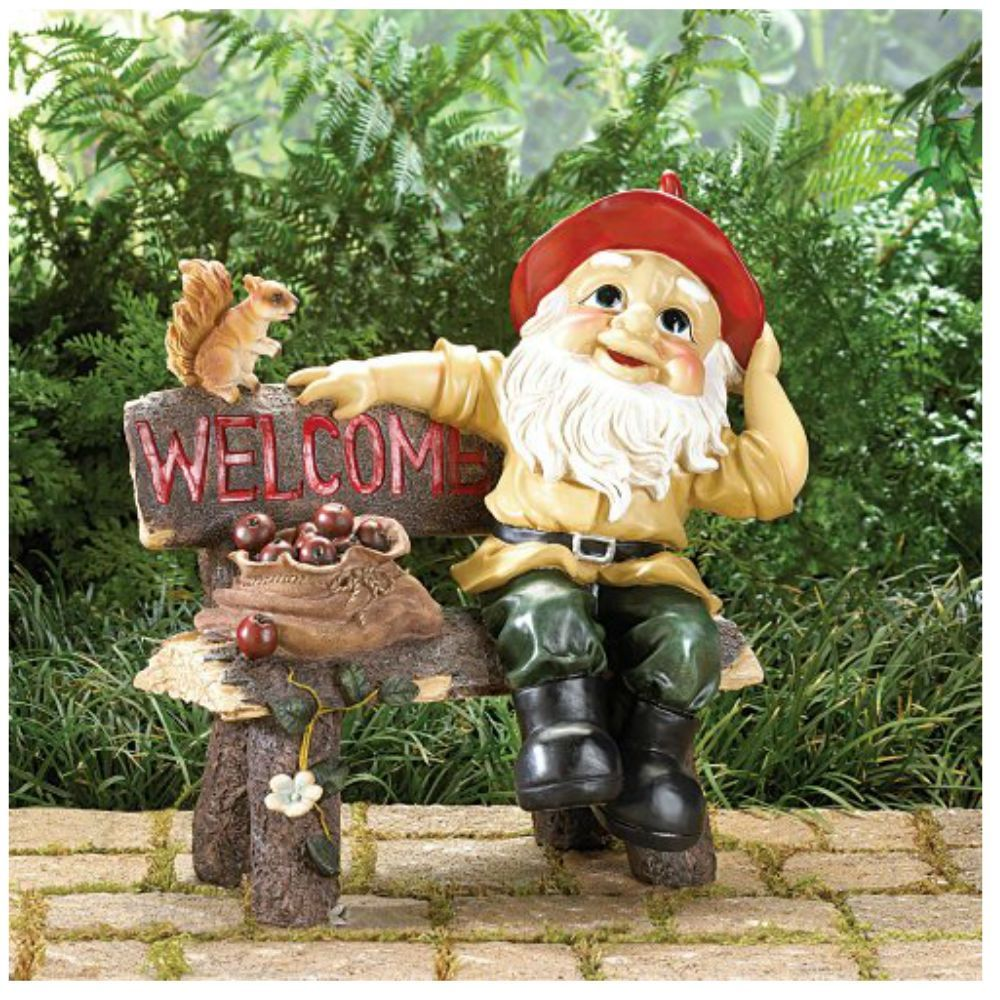 Garden Gnomes Welcome Sign | Gnomes and Gardens