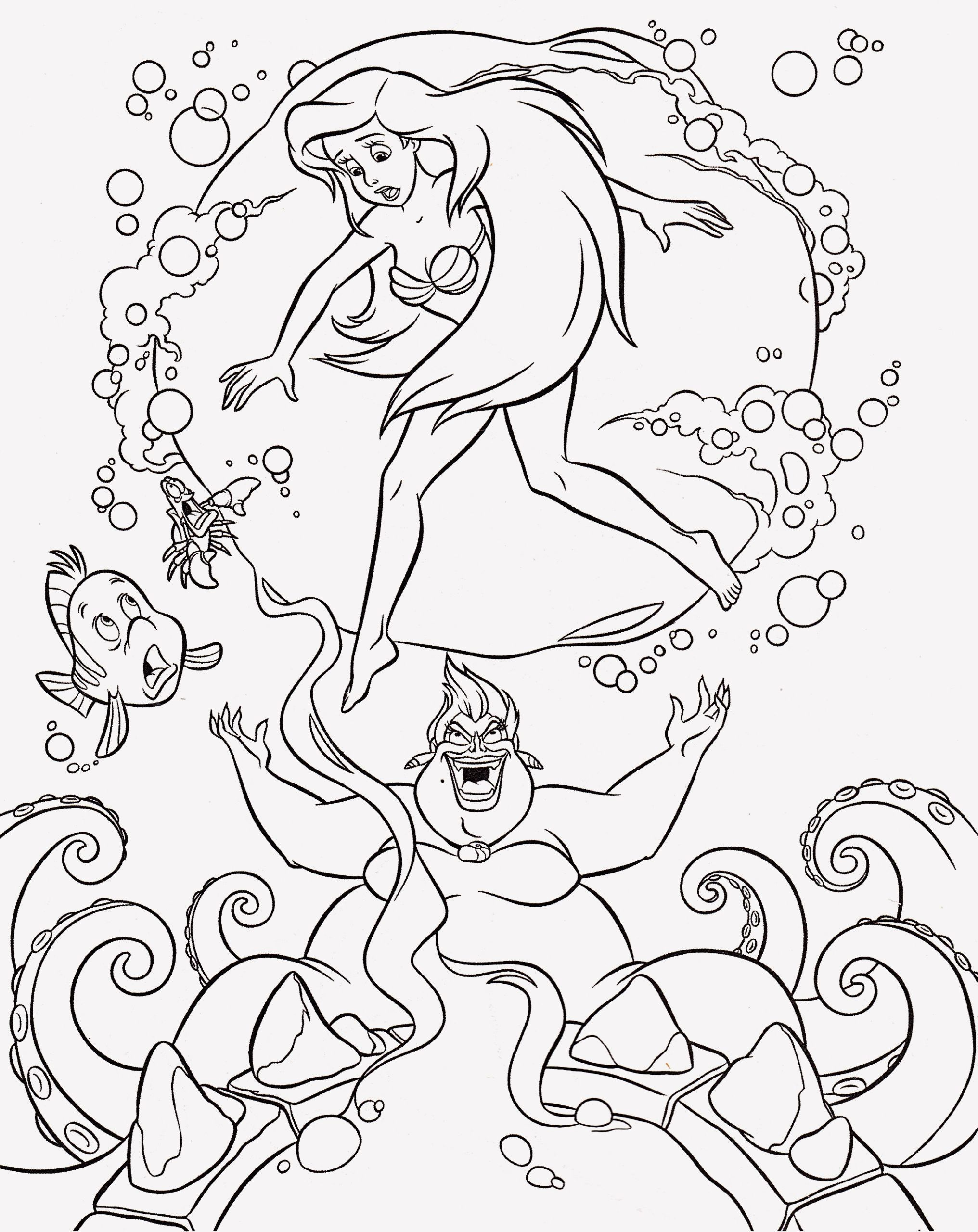 19 Disney Ursula Coloring Pages Ariel Coloring Pages Disney Princess Coloring Pages Disney Coloring Pages
