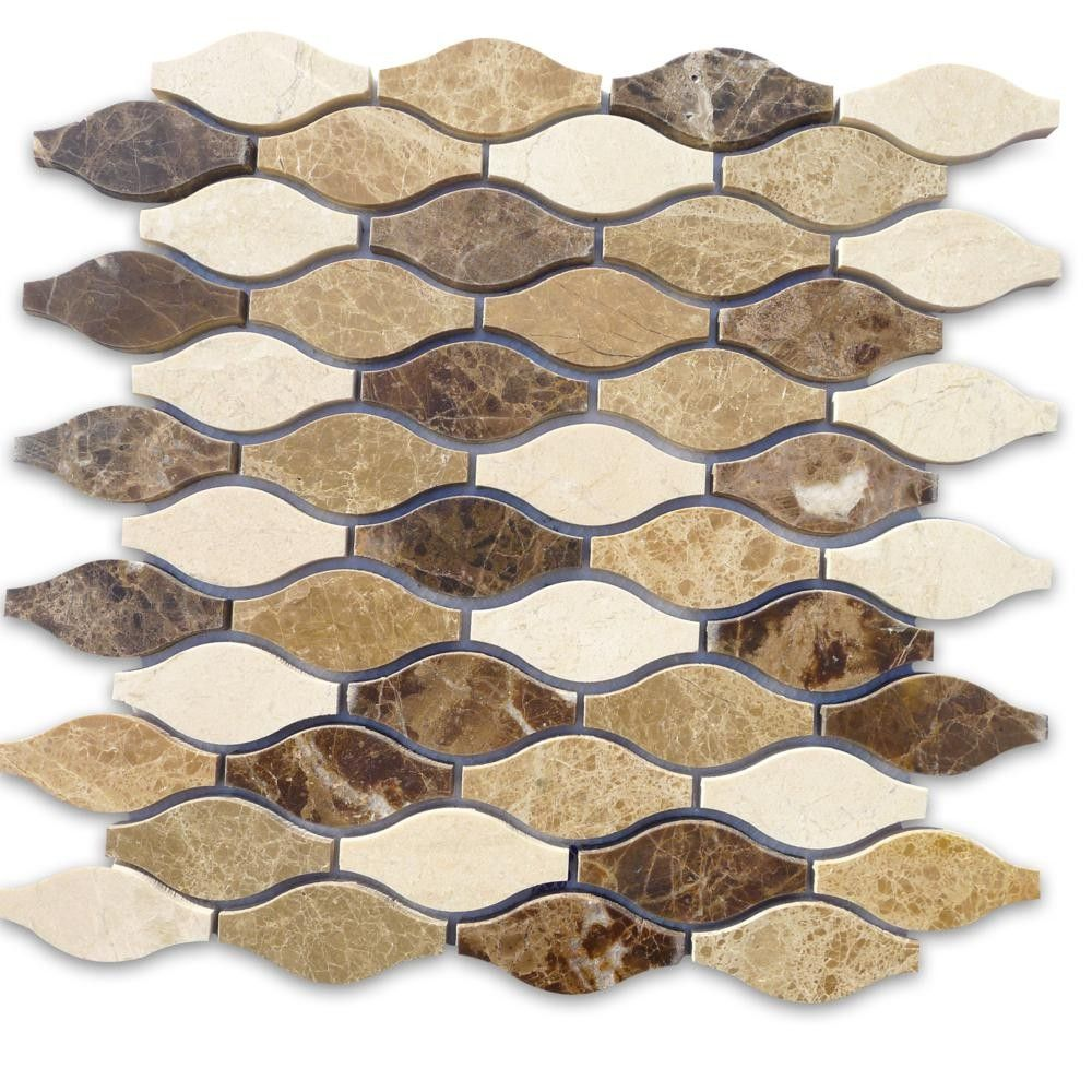 Iota Thistle Seed Marble Tile has that stunning design and unique pattern bringing warmth, texture and natural ambience to your home. This tile will give any home owner various design options for their kitchen or bathroom.