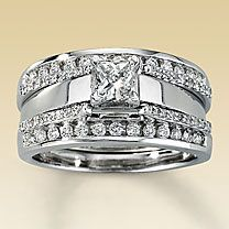 The Ring Enhancer I D Like To Get 1099 At Kay Jewelers Is 1 2 Ct Tw And Consists Of 58 Round Diamonds It Really Adds Some Sparkle My