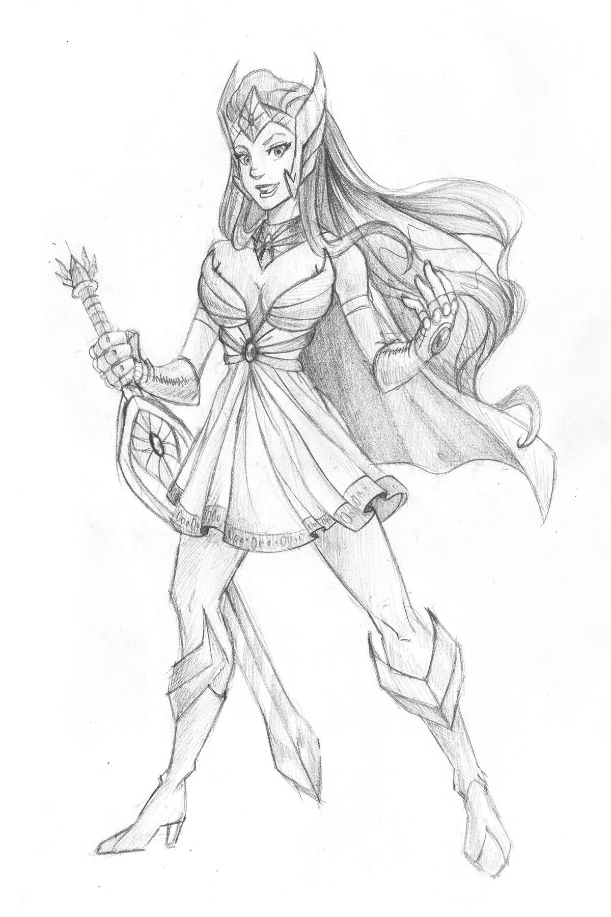 Shera, The Princess of the Power imagens) Desenhos