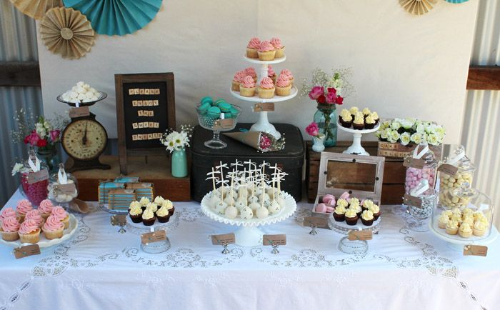 Rustic Engagement Party Guest Dessert Feature Engagement Party Guest Engagement Party Rustic Engagement Party