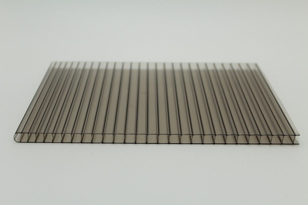 Twin Wall Polycarbonate Sheet Bronze With Images Twin Wall Polycarbonate Sheet Polycarbonate Roof Panels